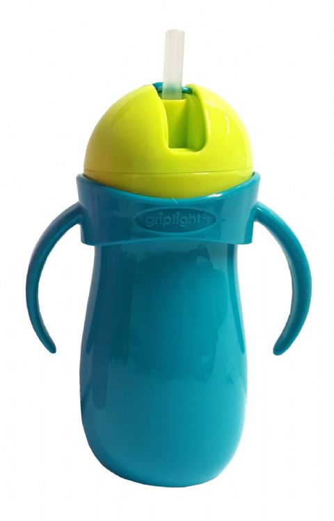 Griptight - Handled Straw Sipper - Turquoise